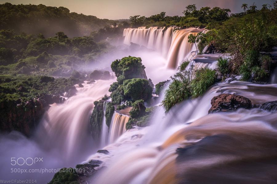 Photograph Iguazu colours 4.0 sec. by Wave Faber on 500px