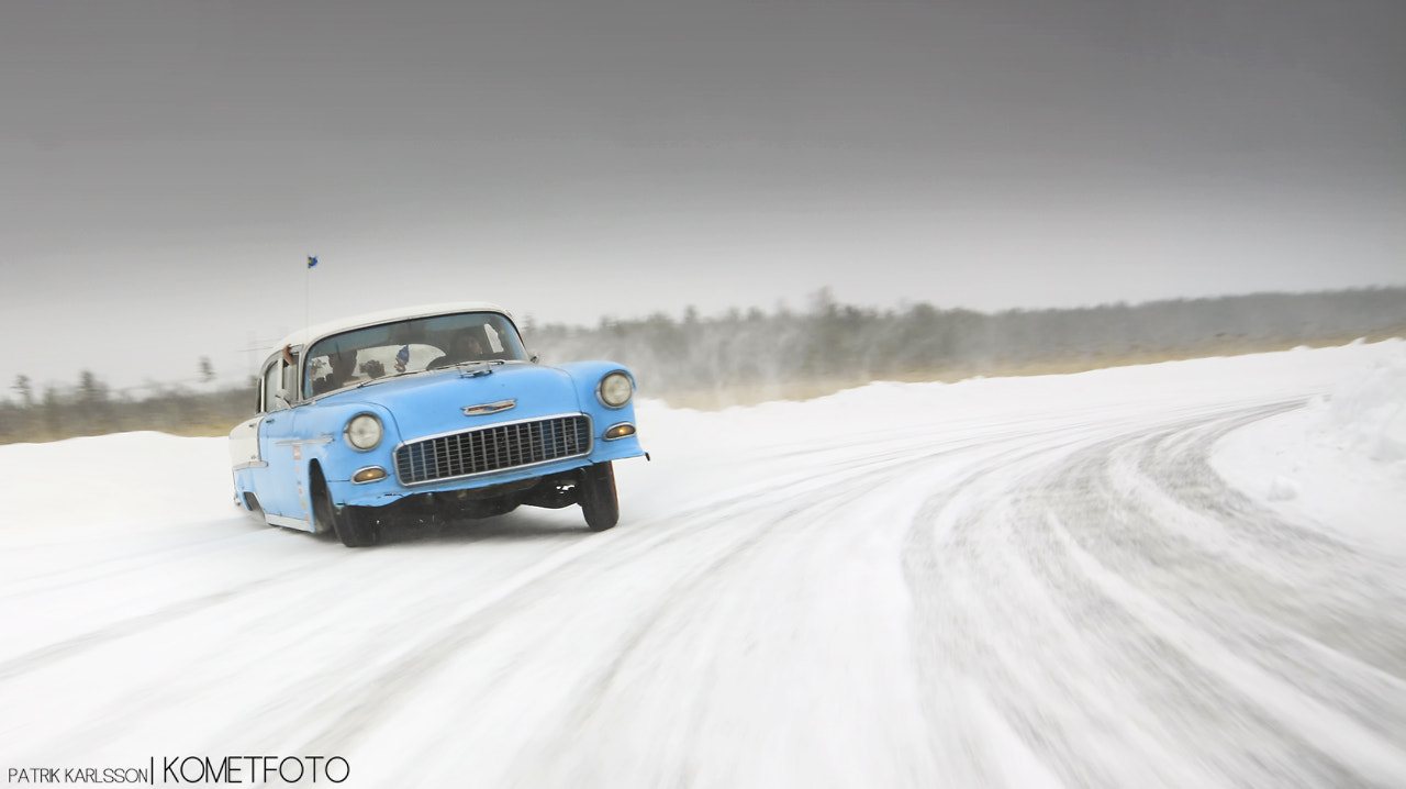 Photograph Drifting Chevy -55 by Patrik  Karlsson on 500px