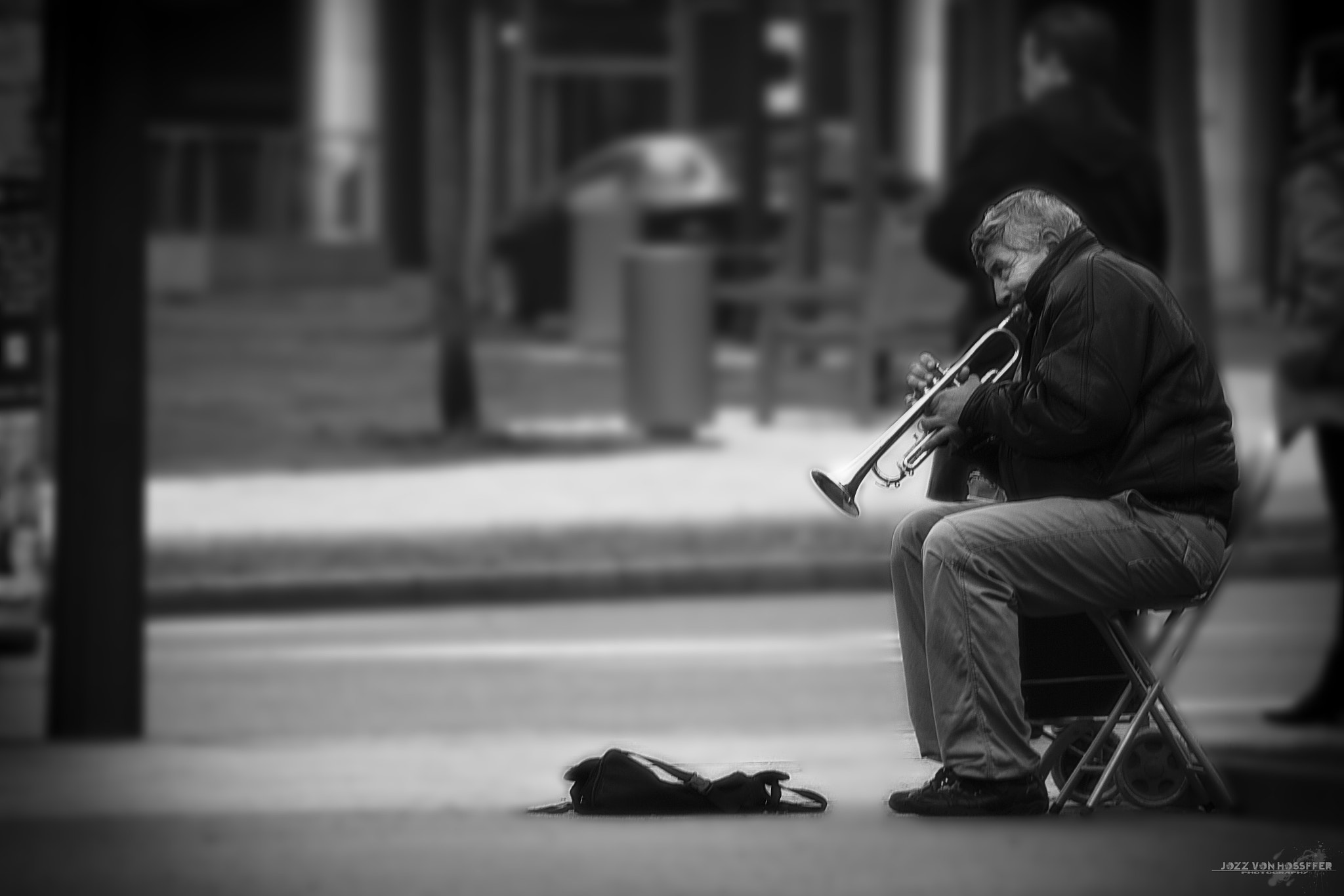 Photograph The trumpet player by Jozz Von Hossffer on 500px