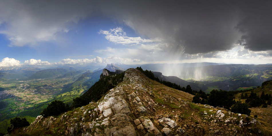 Photograph Blue sky and storm by Romain Cassagne on 500px