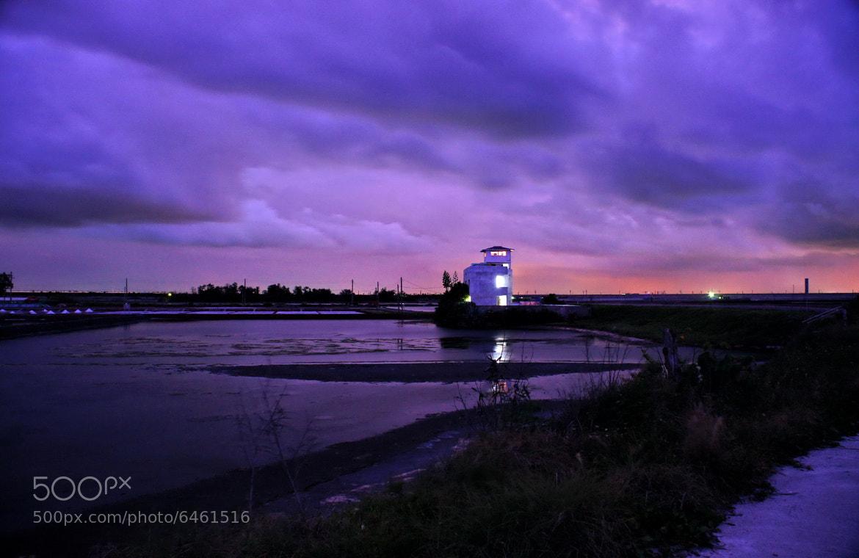 Photograph The dusk by a salt field. by RL Yen on 500px