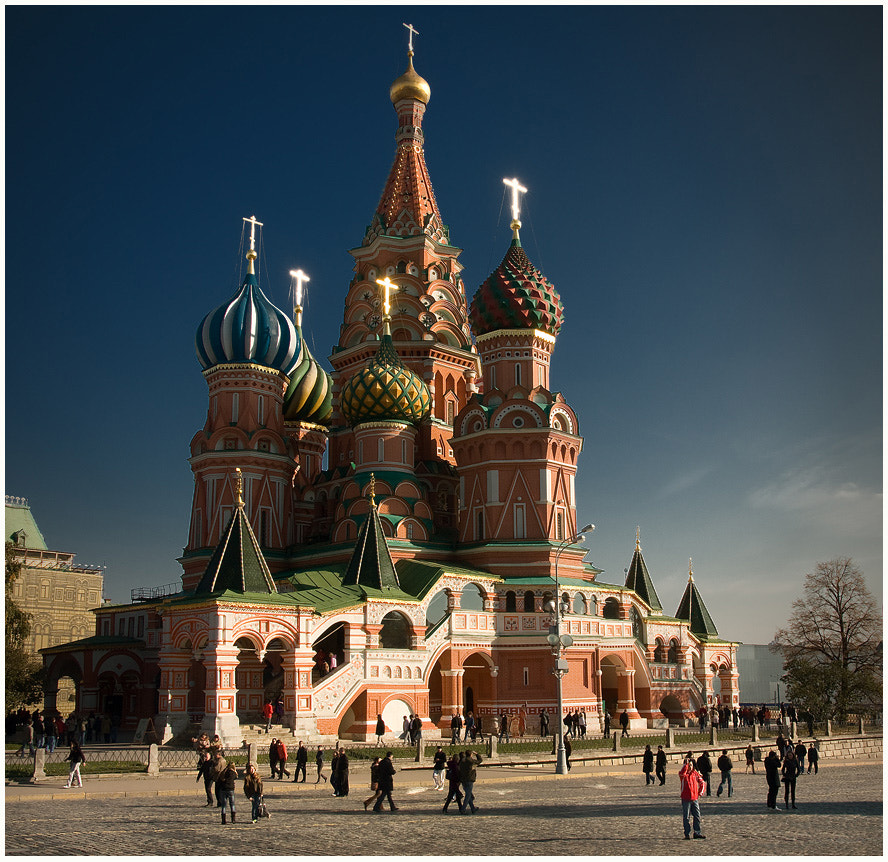 Photograph Moscow, St. Basil's Cathedral  by Gennady Matveenkov on 500px