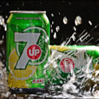 Постер, плакат: 7 Up splash