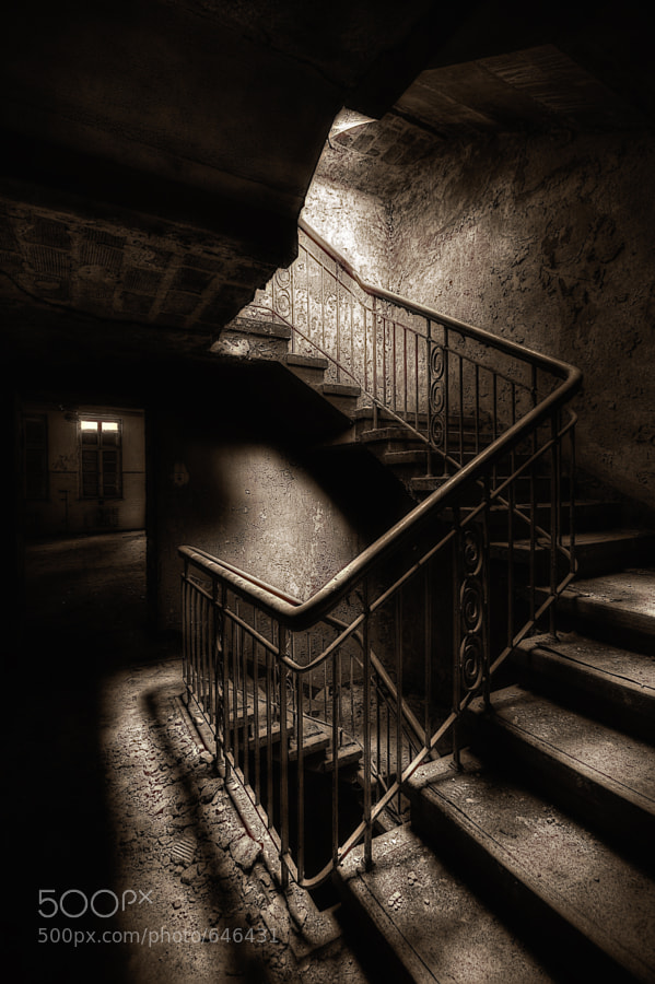 Photograph Beautiful Staircase by Andreas Gronwald on 500px