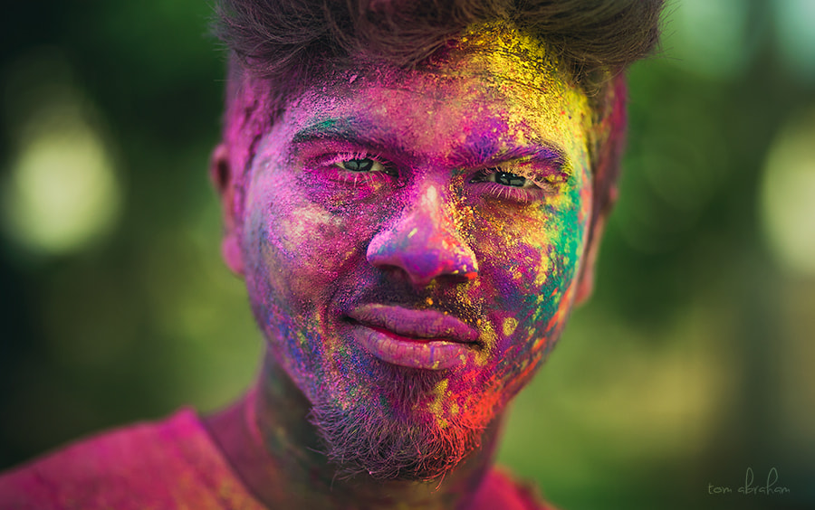 Colored Face by Tom  Abraham Dcruz on 500px.com
