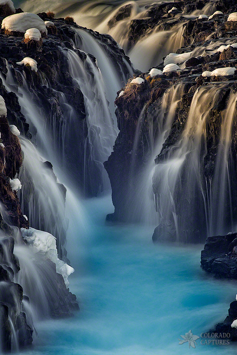 Photograph Waterfall Blues by Mike Berenson on 500px