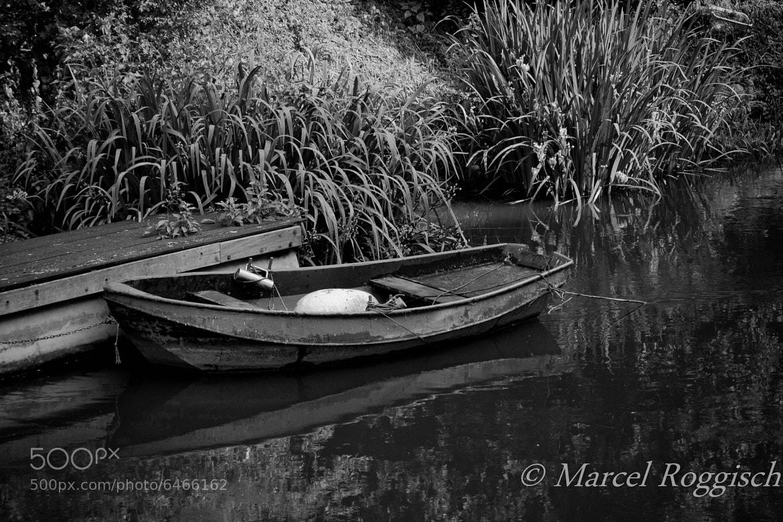Photograph Empty Boat by Marcel  Roggisch on 500px