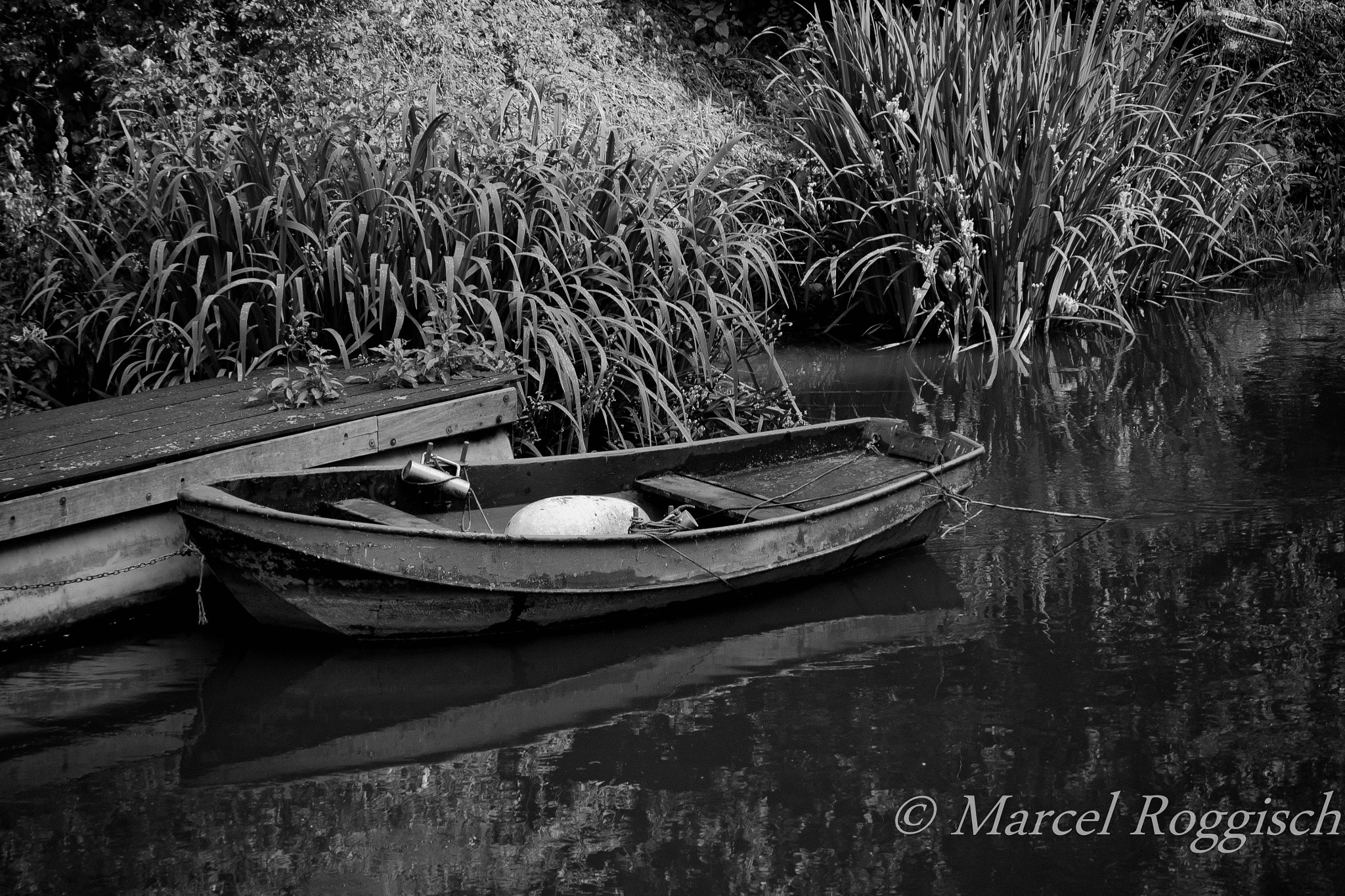 Photograph Empty Boat by Marcel  Roggisch on 500px