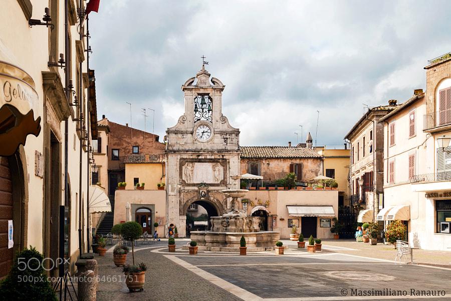 Photograph Piazza del Comune - Sutri Viterbo (Italy) by Massimiliano Ranauro on 500px