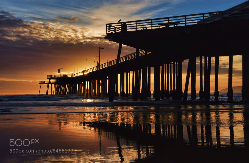 Photograph Pier Light Wide by Rob Bishop on 500px