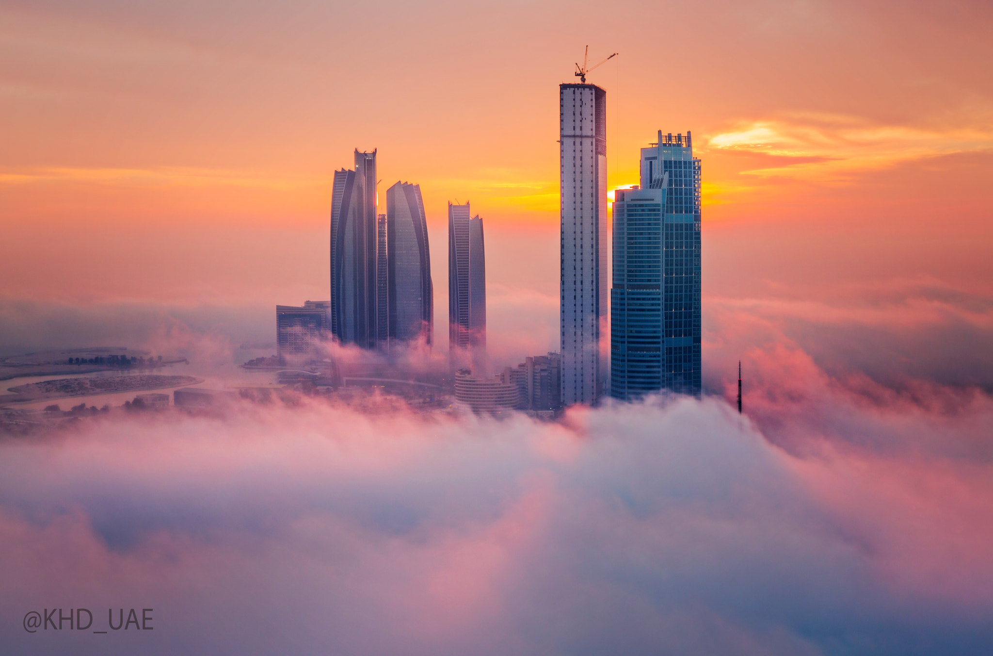 Photograph Cloudy Towers by Khalid Al Hammadi on 500px