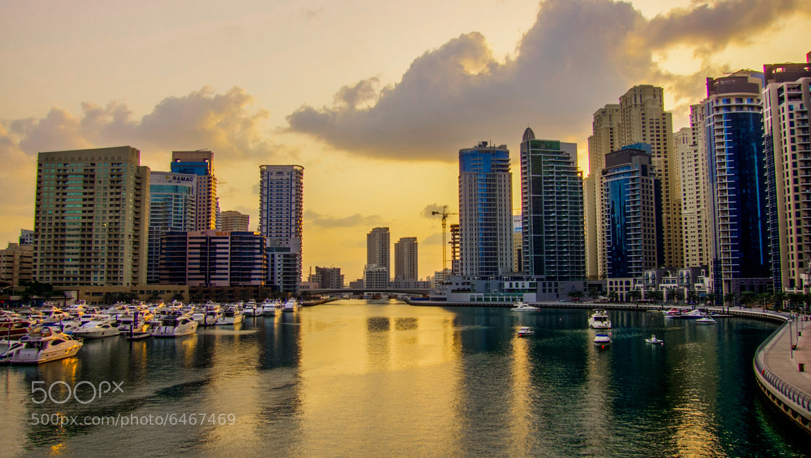 Photograph Cloudy Marina by italium on 500px