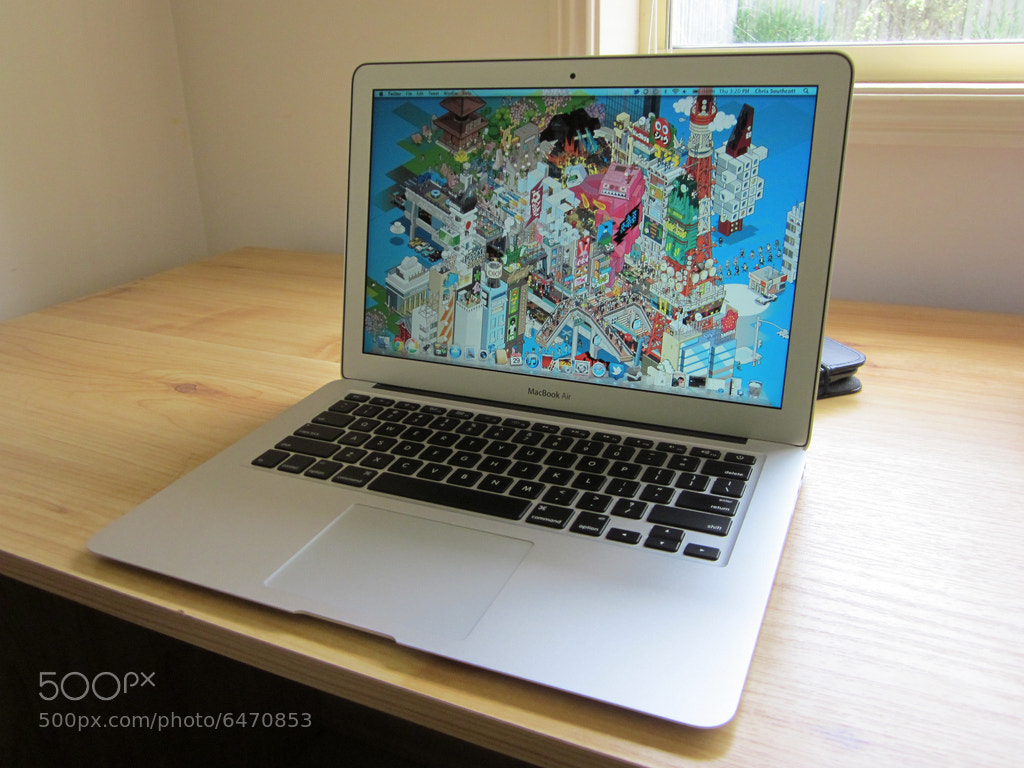 Photograph MacBook Air 001 by Chris Southcott on 500px