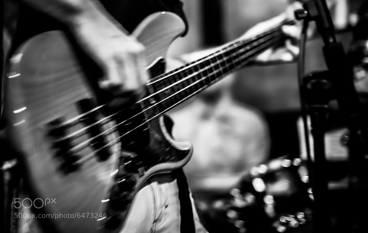Photograph Playing the Fender Bass Guitar by Jasper Poppe on 500px