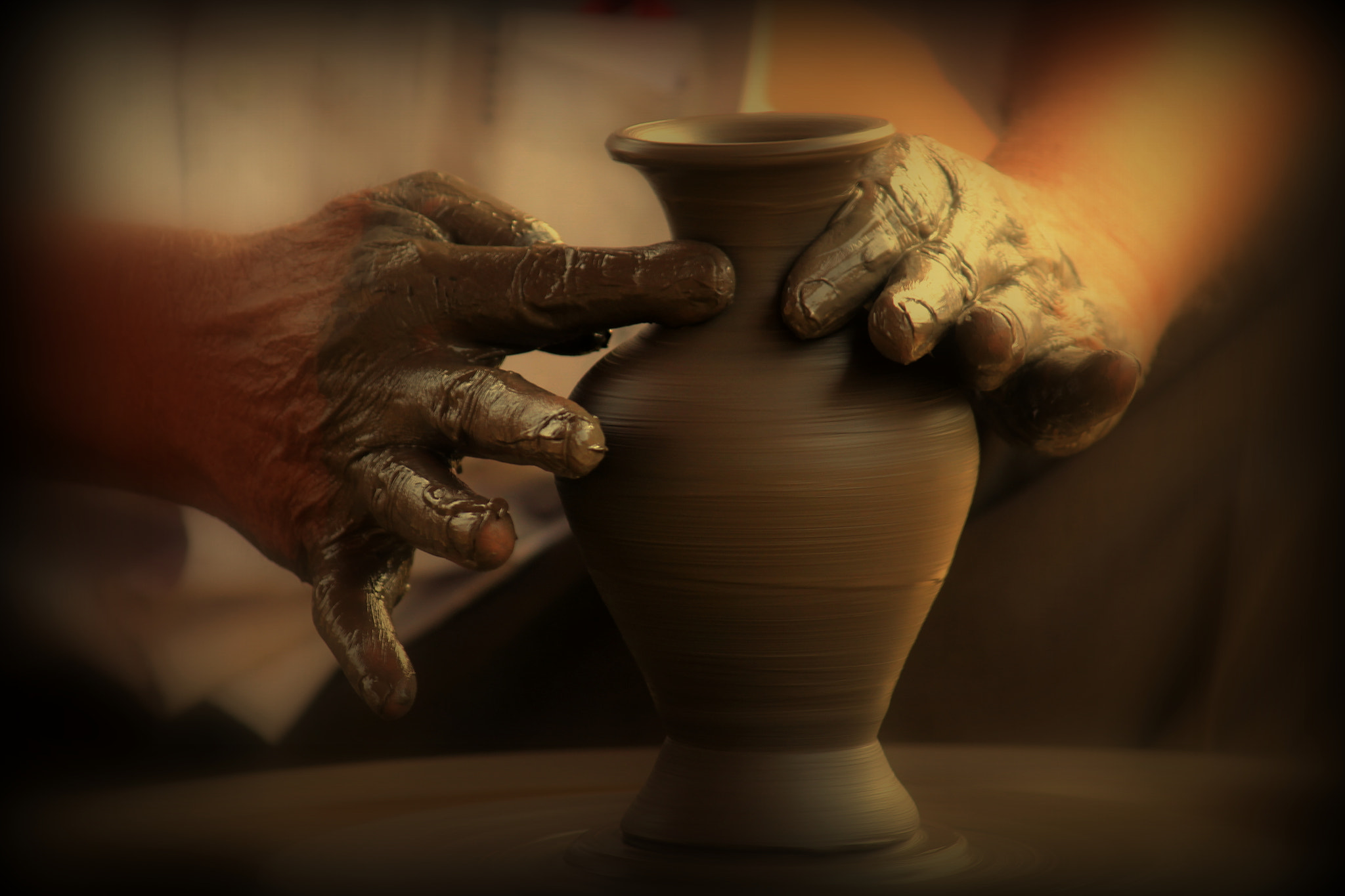 Photograph Pot Making by Deval Jayswal on 500px