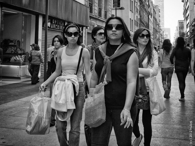 Photograph Reservoir shoppers by hukes . on 500px