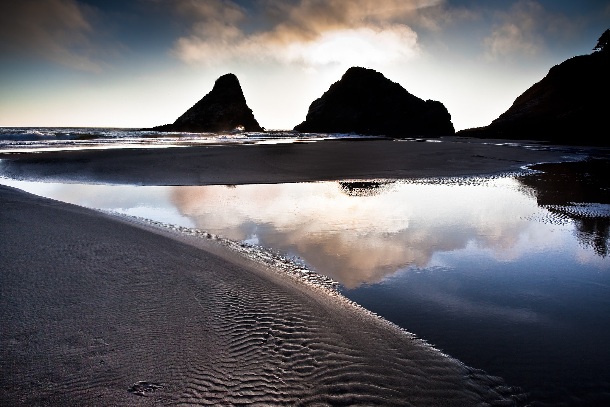 """Photograph """"Ripples in the Sand"""" by Mike Pillows on 500px"""
