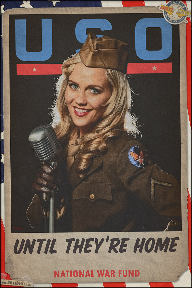 Photograph USO Tribute by Britt Dietz on 500px