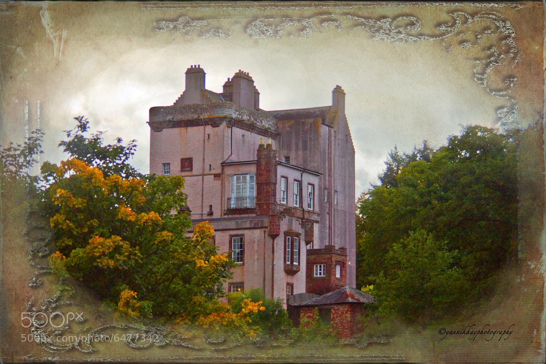 Photograph Delgatie Castle in Autumn's Glory (near Turriff, in Aberdeenshire, Scotland) by Yannik Hay on 500px