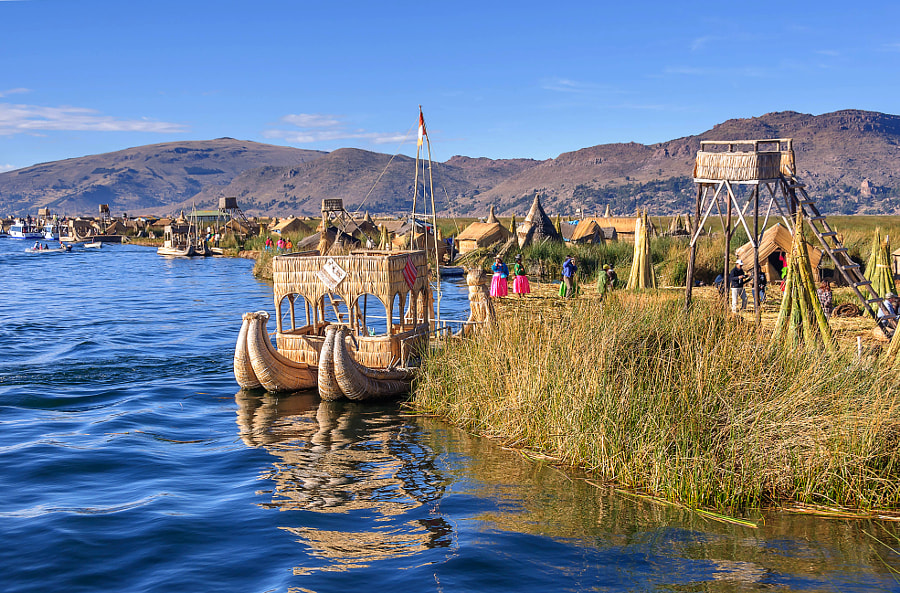 Photograph Life on the Titicaca Lake by Csilla Zelko on 500px