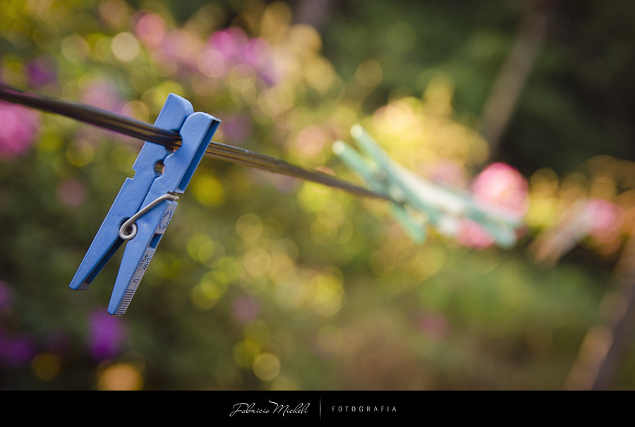 Photograph Clothespin bokeh by Fabricio Micheli on 500px