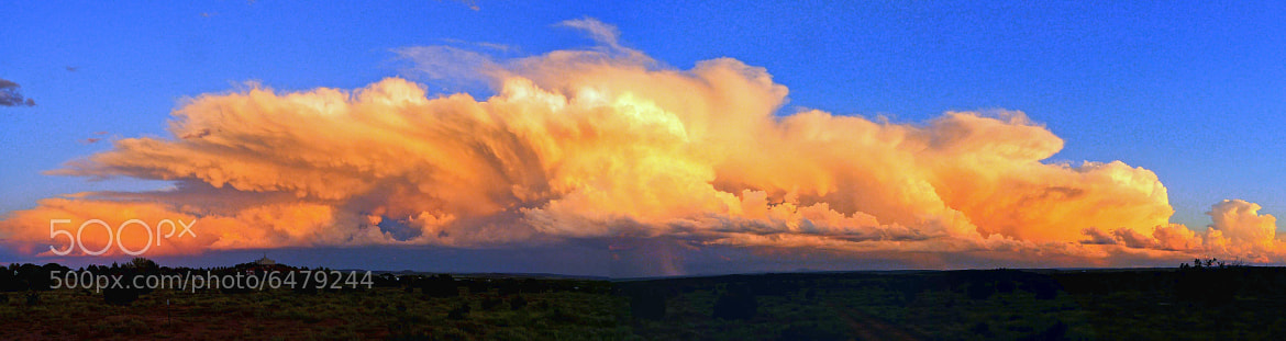 Photograph SUMMER STORM PANORAMA by Tom Poscharsky on 500px