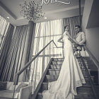 Постер, плакат: Fashion Luxury Wedding Photography in Bangkok Romance Paris by J&T