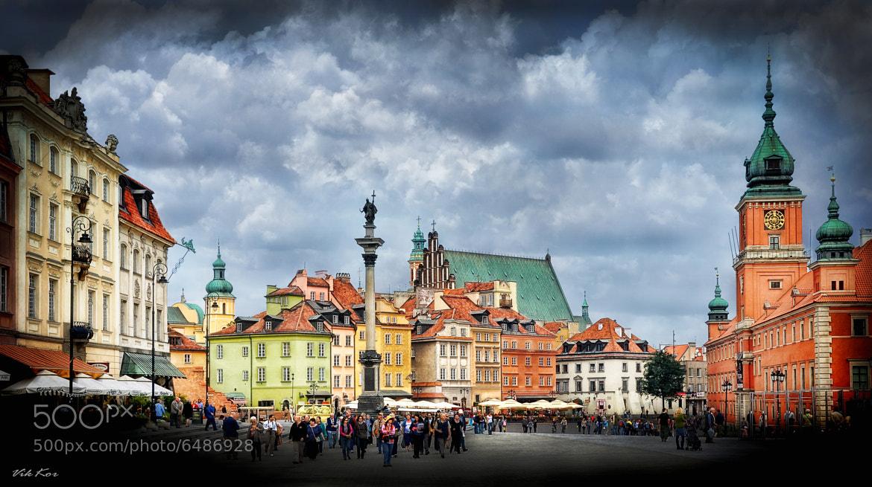 Photograph Warsaw's Castle Square by Viktor Korostynski on 500px