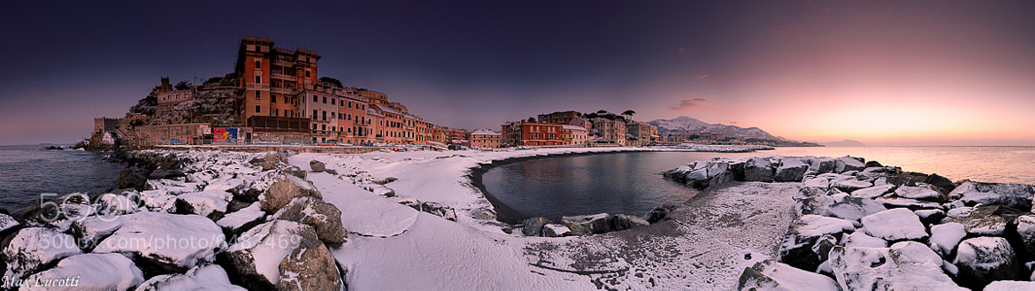Photograph Snow on seascape by Max Lucotti on 500px
