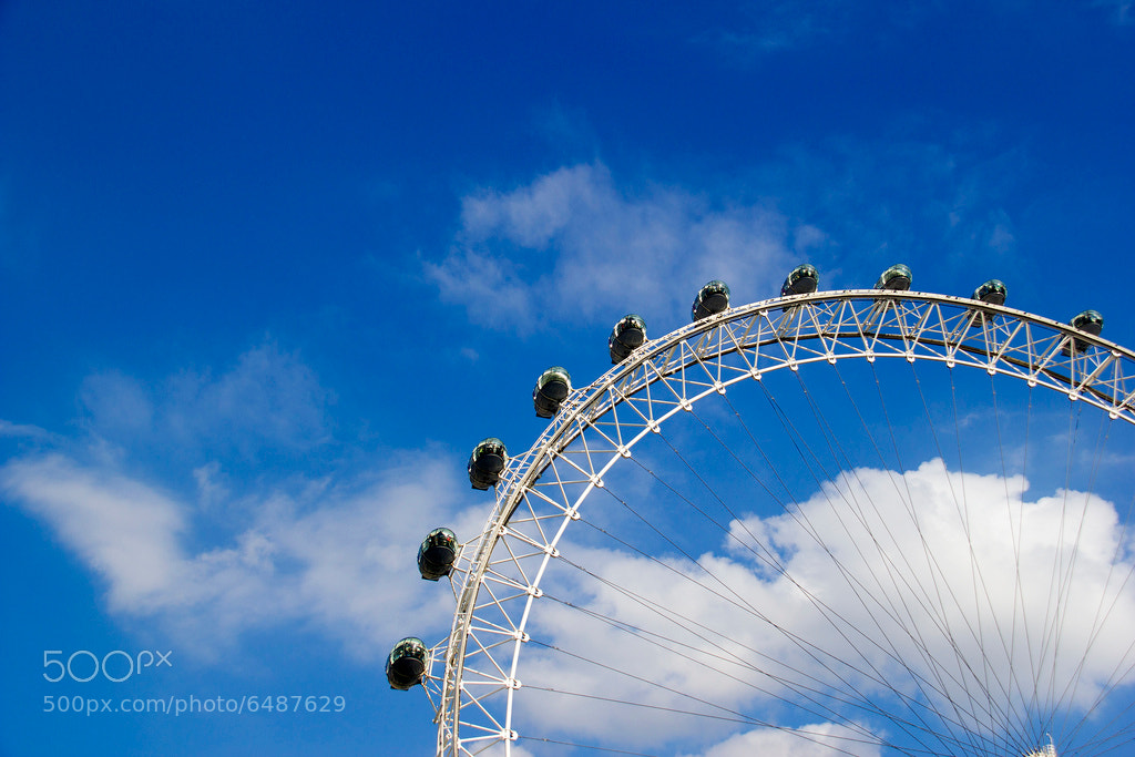 Photograph London Eye by Santiago Rodríguez on 500px