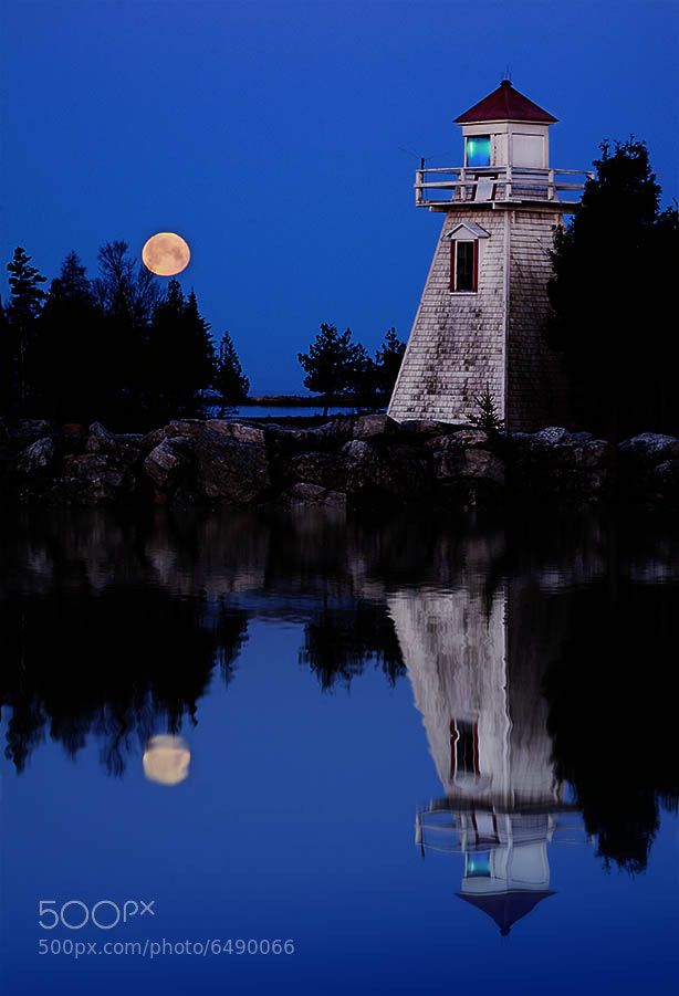 Photograph Lunar Lighthouse by Peter Baumgarten on 500px
