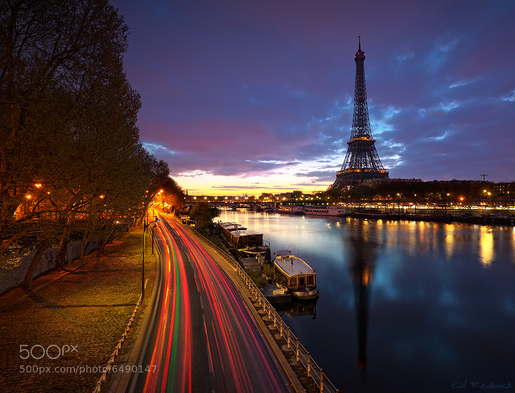 Photograph Paris, vu du pont de Bir-Hakeim by Cal Redback on 500px
