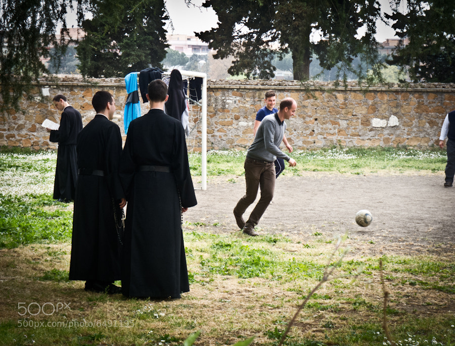Monks Enjoying a Game of Football by Zachary Eastop (Zeastop) on 500px.com