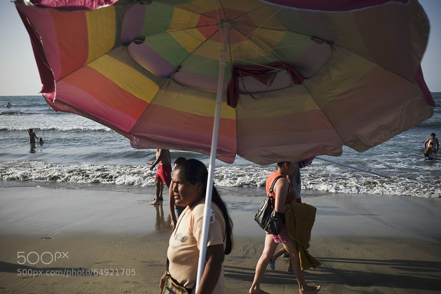 Photograph Sayulita beach umbrella by Evan Mitsui on 500px