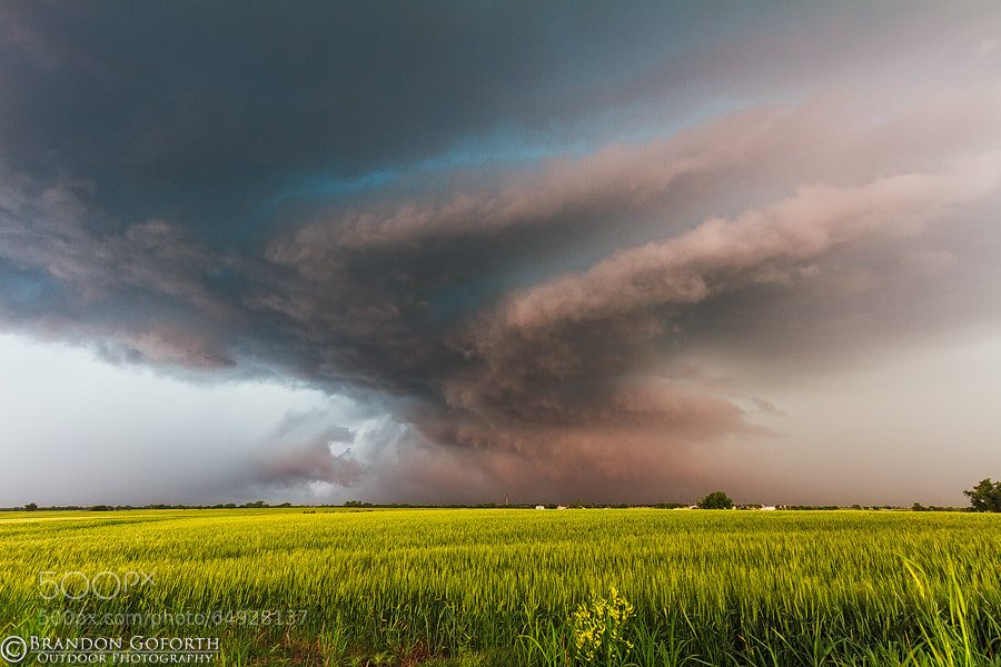 Photograph OKC Hailstorm 2010 by Brandon Goforth on 500px