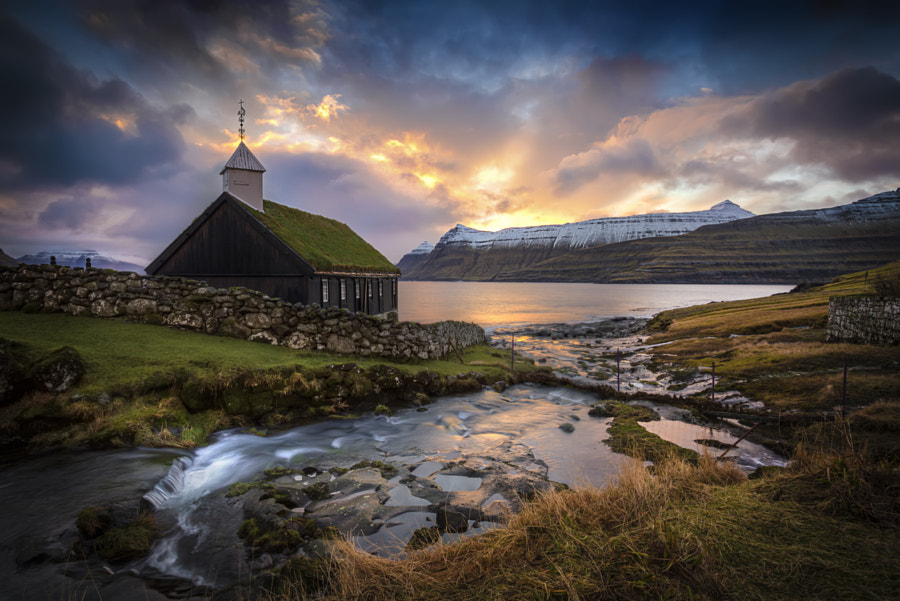 Faroe Church by Marc Perrella on 500px.com