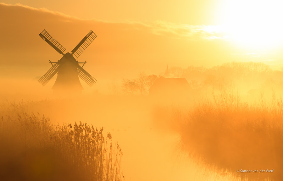 Photograph Windmill calling me by Sander van der Werf on 500px