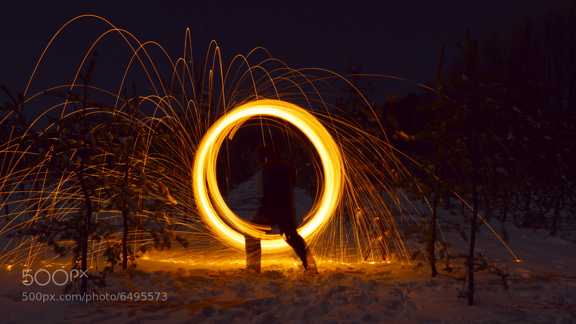 Photograph Spinning fire by David Leclerc on 500px