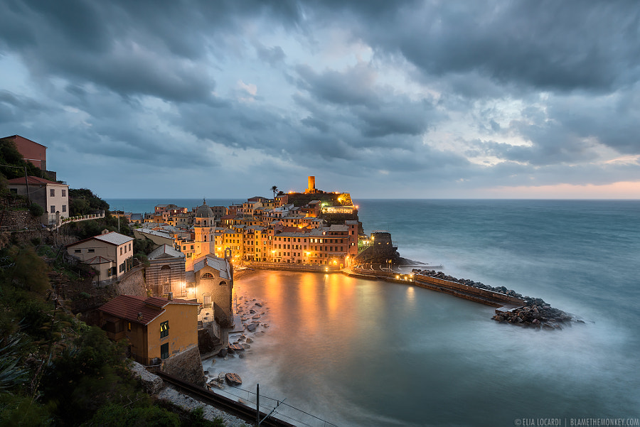 Photograph Eye of the Storm | Vernazza by Elia Locardi on 500px