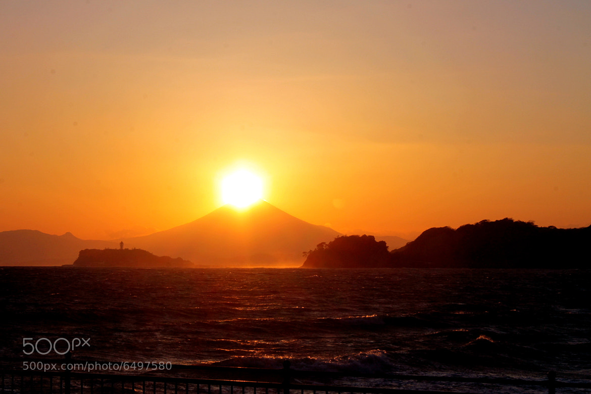 Photograph Sunset on Mt. Fuji by Norie  * on 500px