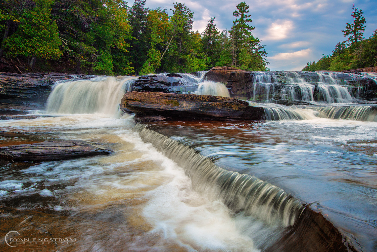 Photograph Presque Isle River Falls by Ryan Engstrom on 500px