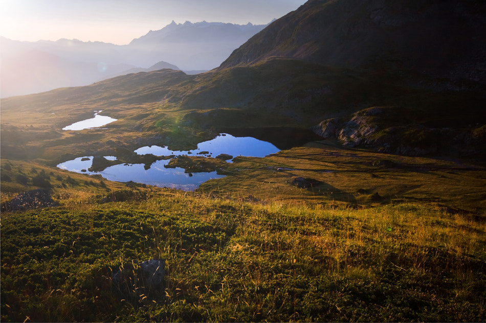 Photograph Lakes at sunrise by Romain Cassagne on 500px