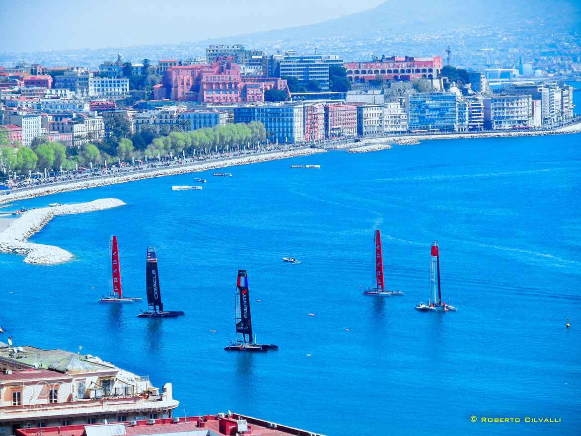 Photograph American's cup, The catamarans, Naples by Roberto Cilvalli on 500px