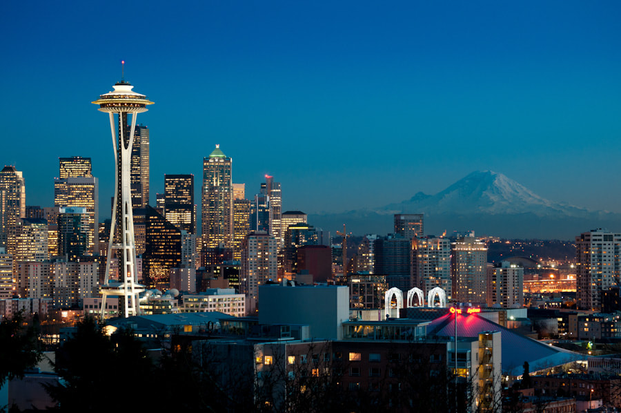 Photograph Goodnight Seattle by Pixel Northwest on 500px