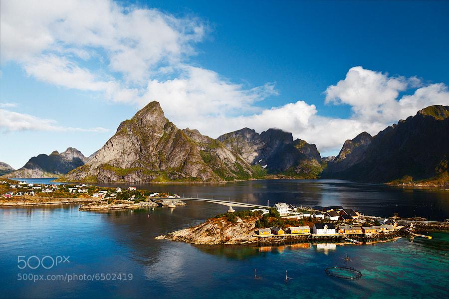 Photograph Norway - Reine #3 by Fabrizio Fenoglio on 500px