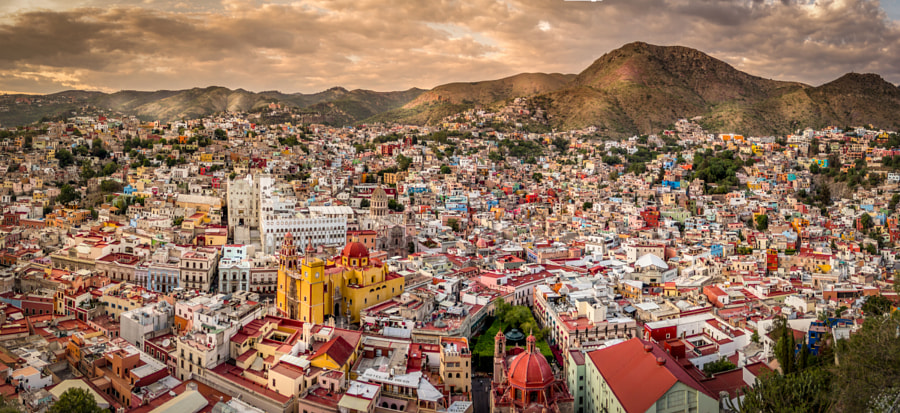 Photograph Guanajuato, panorámica by HeBa  on 500px