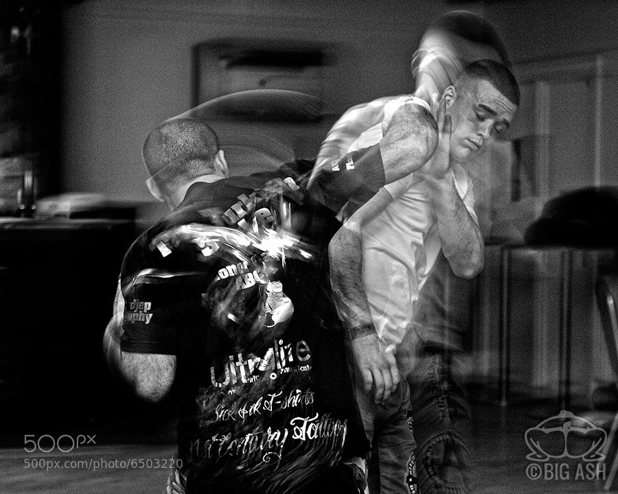 Photograph MMAtrix Sparring by Ashley  Wilkin on 500px