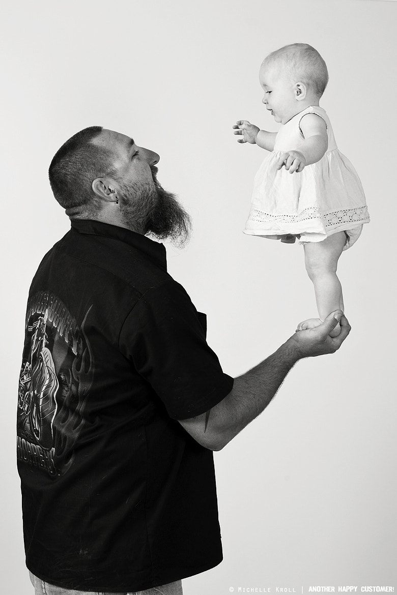 Photograph Father & daughter by Michelle Kroll on 500px
