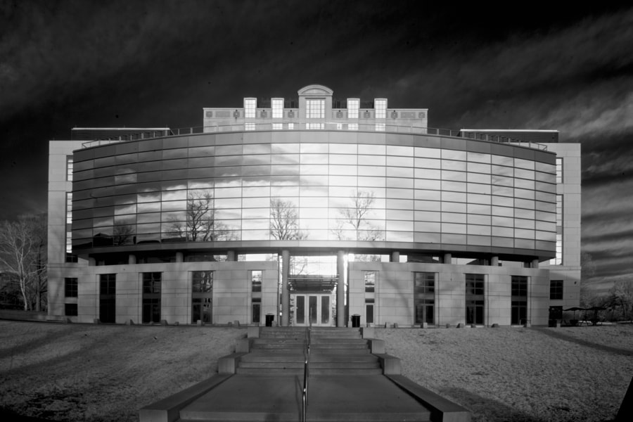 Thompson Memorial Library (infrared)