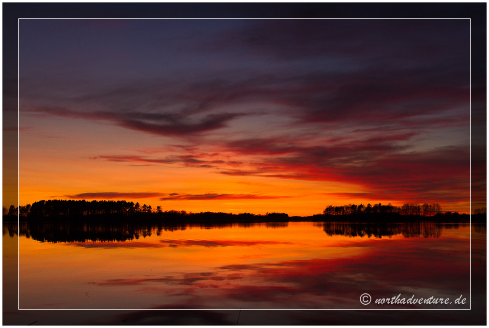 Photograph Fire on the lake by Sandy Lupu on 500px